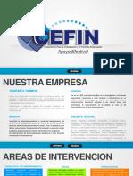 PresentaciónCEFIN