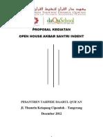 Proposal Open House Santri Indent. Edit