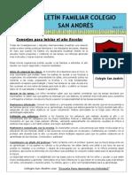 Boletín Familiar Colegio San Andrés_Marzo 2013