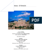 3- El Partenón de Atenas - Informe