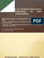 Epidemiologia do distress psicológico