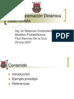 S1 _ Programación Dinámica Determinística