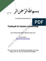 Tazkiyah and Islamic Leadership