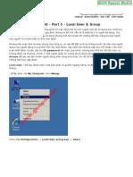 Windows Server 2008 - Part 5 - Local User - Group - Smith.N Studio