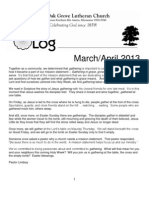 March/April LOG 2013