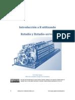 Introducción a R utilizando Rstudio server