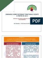 PRESENTACION REFORMAS  2012