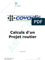 Covadis 9.1 Formation Projet Routier