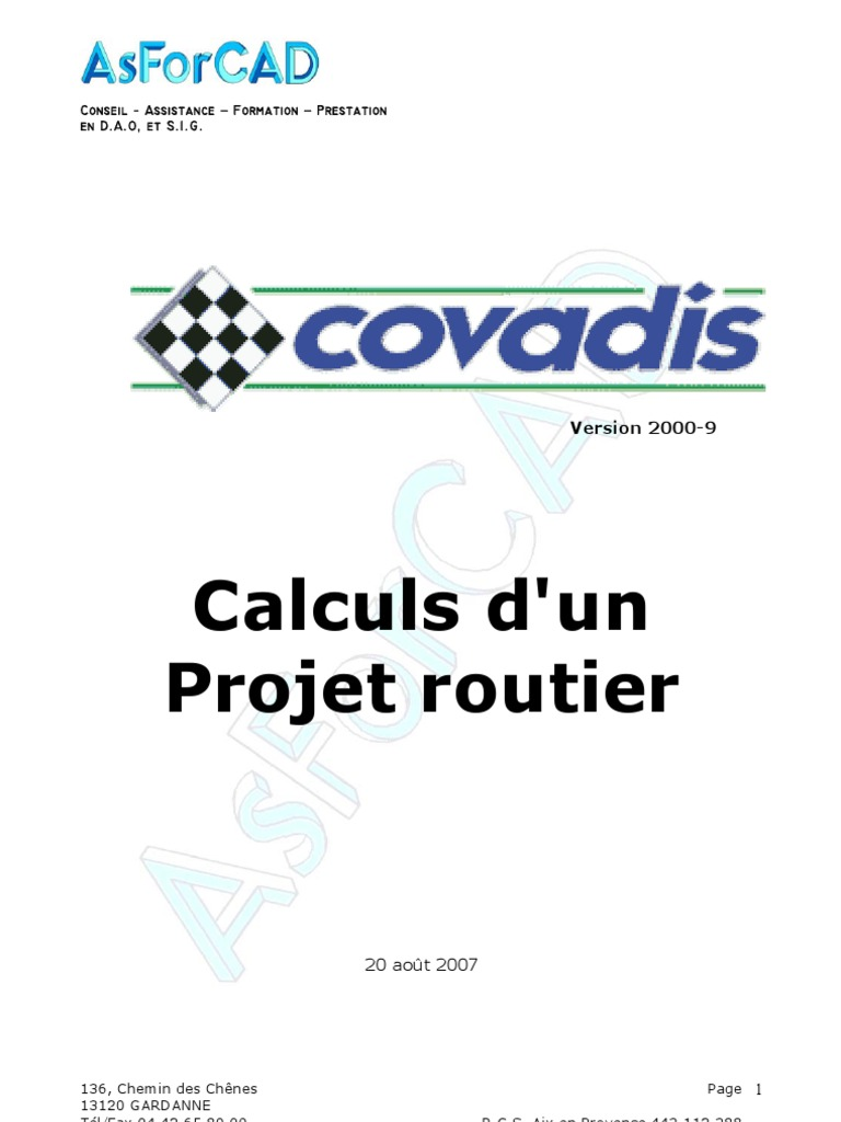 formation covadis pdf