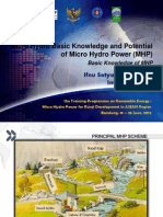 2.a. Micro Hydro Basic Knowledge and Potential - Basic Knowledge of MHP - Ifnu Setyadi & Iman Permana