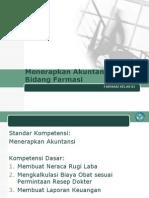 Menerapkan Akuntansi Dalam Bidang Farmasi