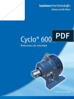 Catalogo de Reductores CYCLO 6000