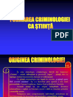 Criminologie