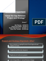 Project Management_Close the Gap Between Project and Strategy