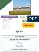 TERMV International Logistics Bluedart Project