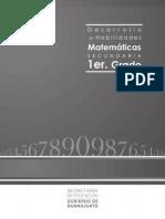 Desarrollo de Habilidades Matemc3a1ticas Cuadernillo de Apoyo 2012 Primer Grado De