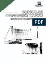 PCA Circular Tanks Design