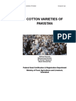 COTTON VARIETIES OF PAKISTAN
