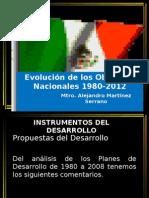 Los objetivos nacionales de México (1980-2012)