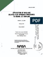 Delayed Flap Pocedure 727