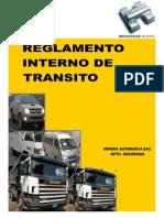 REGLAMENTO INTERNO DE TRÁNSITO