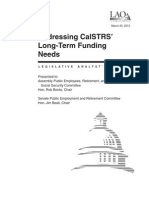 CalSTRS Funding March 20, 2013