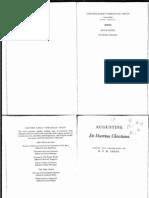Augustine De Doctrina Christiana - Excerpt