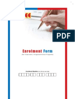 Enrollment Form Fiitjee