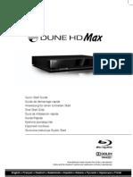 Dune HD Max Quick Start Guide