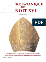Adessa Franco - La mitre satanique de Benoît XVI