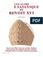 Adessa Franco - Une autre mitre satanique de Benoît XVI