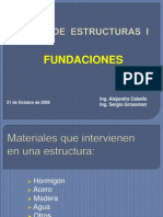 Clase N°12 Fundaciones