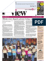 The Belleville View front page, March 21, 2013
