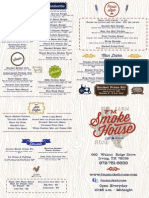 FM Smoke House Food Menu
