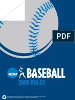 Baseball Rules NCAA
