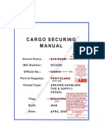 5- Cargo Securing Manual