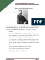 Trabajo de John Dewey