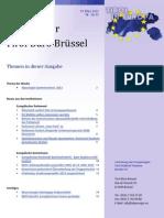 Newsletter Tirol in Europa am 20. Maerz 2013