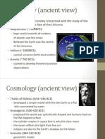 P3 - week 11 - Cosmology