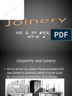 Power Point Presentation on Timber Joinery