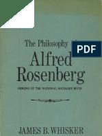 Whisker James B. - The Philosophy of Alfred Rosenberg