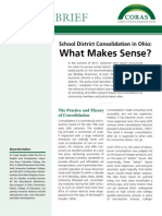 School Consolidation in Ohio