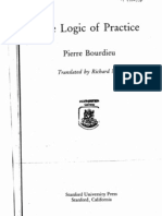 Bourdieu Logic of Practice