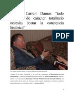 Carrera Damas, Germán.pdf; Entrevista