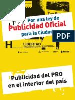 Informe Publicidad Oficial - Desp. Sánchez Andía