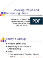26-Feb 09 - OnlineJournalism-Crowdsourcing Wikis Story Ideas