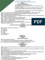 Estatuto dos Funcionários Públicos Civis do Estado de São Paulo 2012