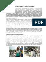 Vida Humana en Extrema Pobreza