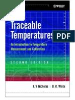 Traceable Temperatures- Temp. Measureemnt and Calibration 2nd Ed. - J. Nicholas, D. White (2001) WW