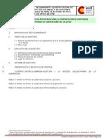 TdR e Informe Auditoria Marzo 2012